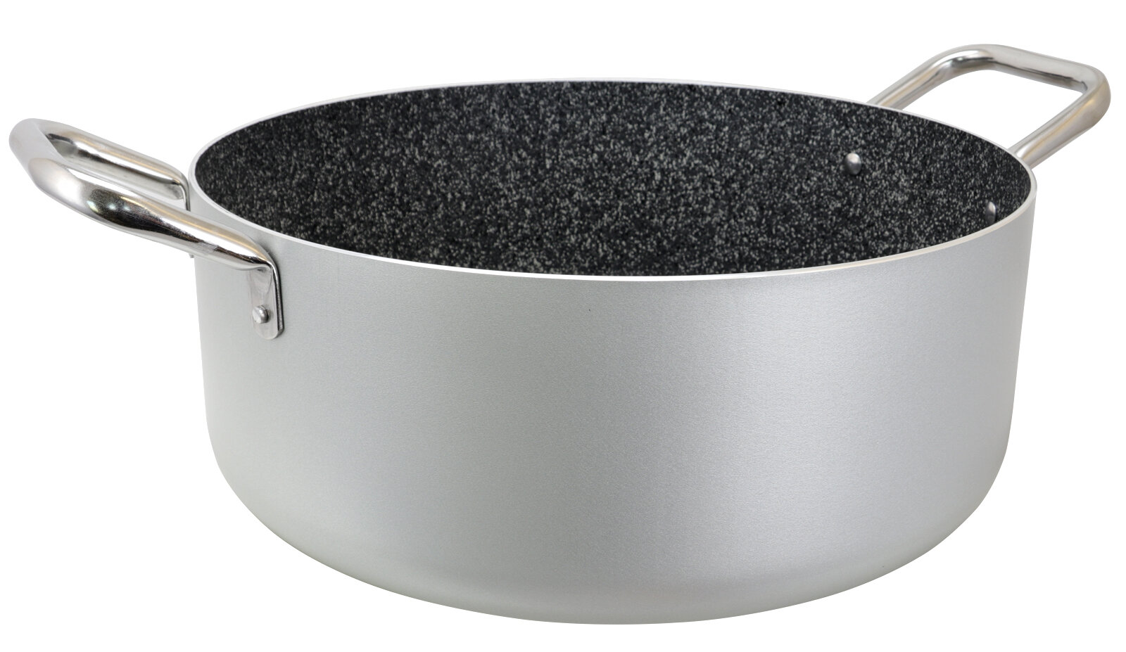 Casserole Induction Compatible Vitroceramique robusto 13.25 qt. non-stick aluminum round casserole