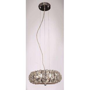 Goldblatt 4-Light Crystal Pendant by Brayden Studio