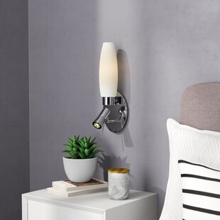 Terranova 1 Light Led Wall Sconce With Reading