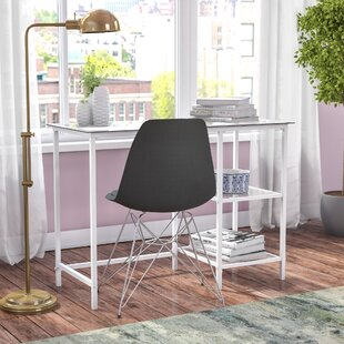 Chayne Glass Writing Desk by Zipcode Design