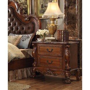 Astoria Grand Rangely 2 Drawer Nightstand