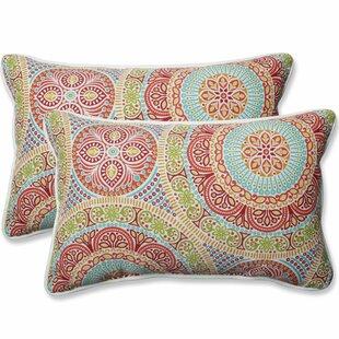 Delancey Jubilee Outdoor Lumbar Pillow (Set of 2)