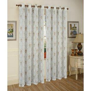 Fleur De Lis Curtain Panel