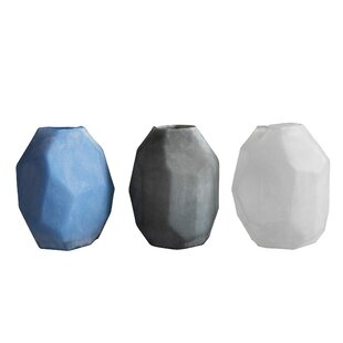 Frosted Table Vase (Set of 3)