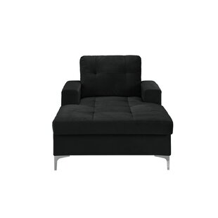 Wrought Studio Quintara Retro Club Style Chaise Lounge
