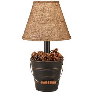 Coast Lamp Mfg. Rustic Living Mini Bucket of Pine Cones 18.5