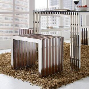 Gunnar Wood Bench by Wade Logan