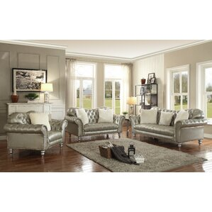 Malmesbury Configurable Living Room Set by House of Hampton