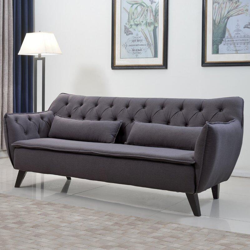 Langley Street Slater Mill Mid Century Modern Sofa Reviews Wayfair