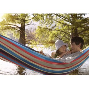 Sorbus Double Adjustable Cotton Hammock with Stand