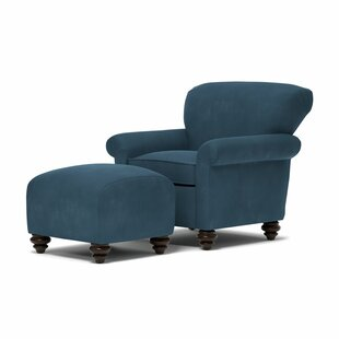 Check Prices Maglio Armchair and Ottoman by Red Barrel Studio Reviews (2019) & Buyer's Guide