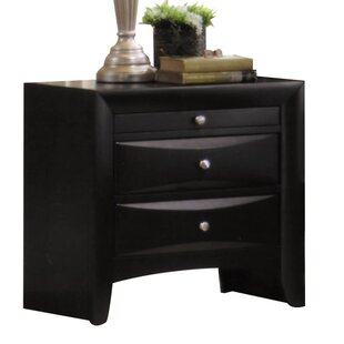 Check Prices Belfort 3 Drawer Nightstand by Latitude Run