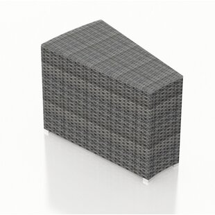 Harmonia Living District Wicker Side Table