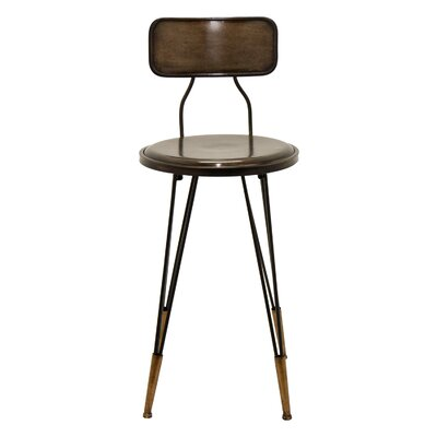 Pleasing Cipolla Metal 235 Bar Stool Williston Forge Spiritservingveterans Wood Chair Design Ideas Spiritservingveteransorg