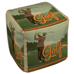Golf Bad Day Pouf by Manual Woodworkers & Weavers