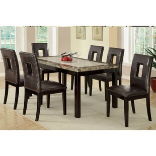 Massucci 7 Piece Dining Set Red Barrel Studio