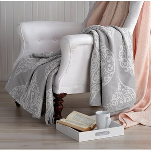 Simonton Woven Damask Cotton Blanket