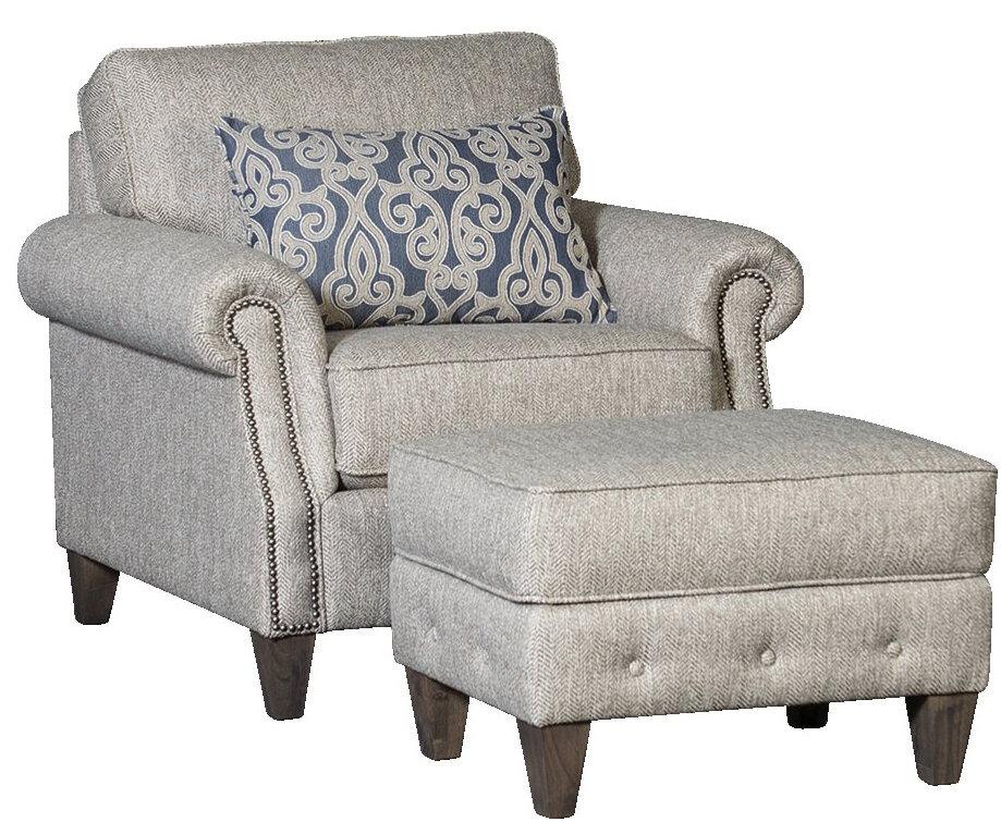 citium armchair and ottoman