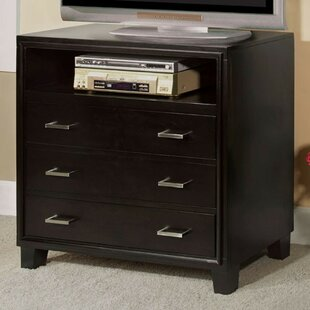 Gengler Media 3 Drawer Standard Chest