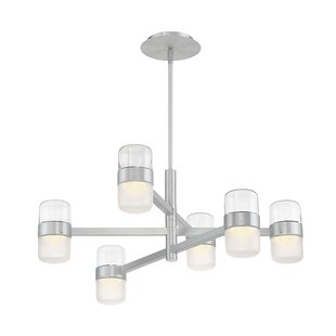 Modern Forms Jazz 6-Light LED Chandelier