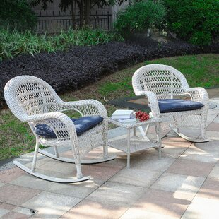 Raymer 3 Piece Seating Group with Cushions