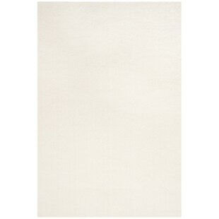 Top Reviews Bivins White Area Rug By Mercury Row
