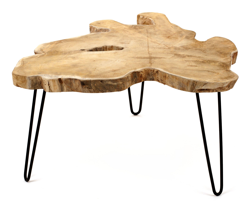 competitive price c7587 8e7dc Modern & Contemporary Tree Stump Coffee Table | AllModern