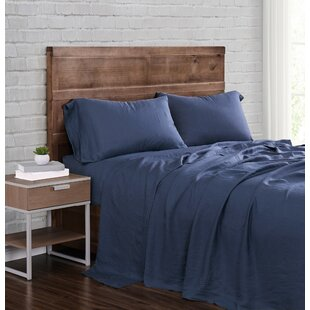 Arana Solid Linen Sheet Set