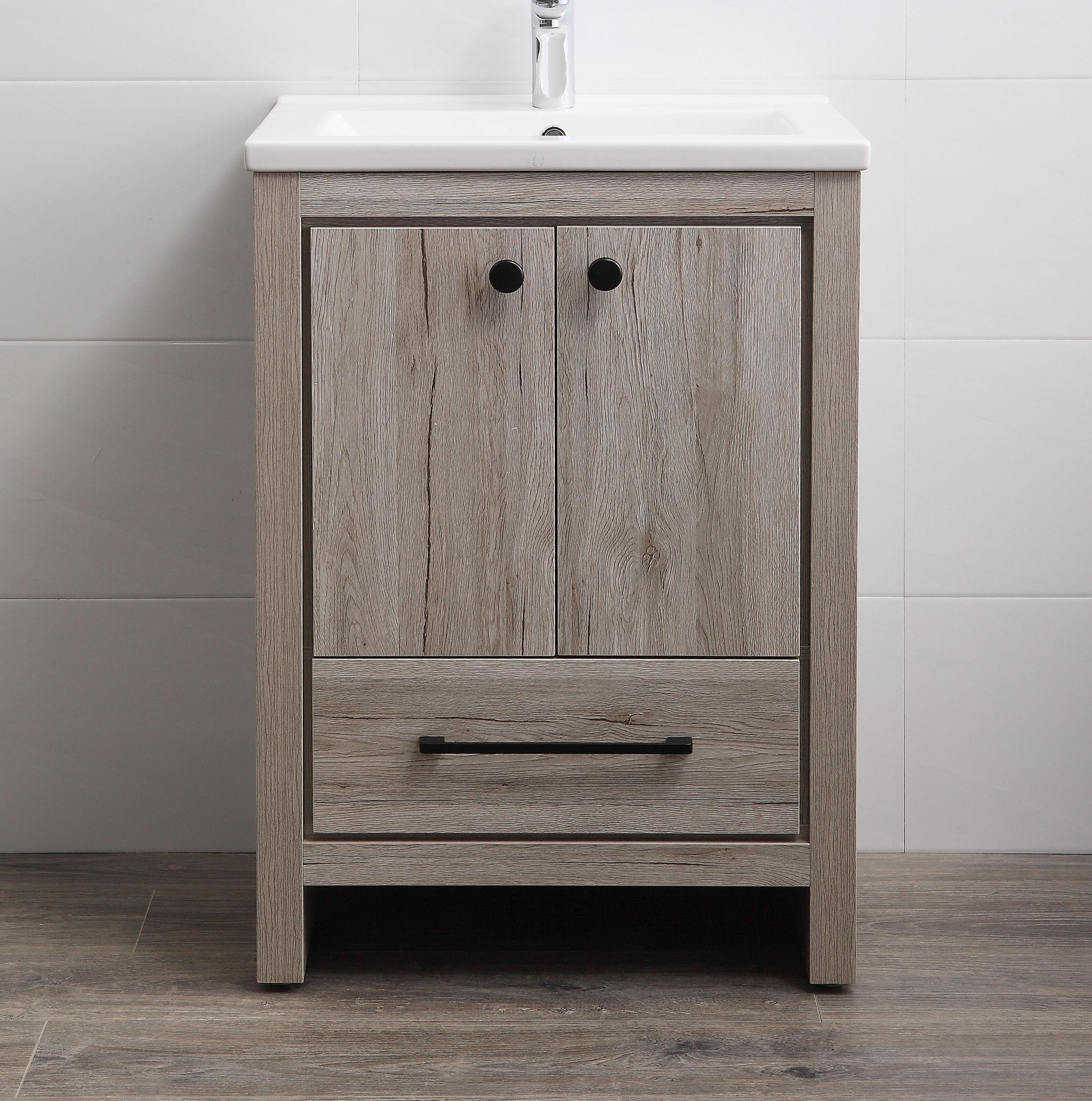 "Asenath 12"" Single Bathroom Vanity Set"