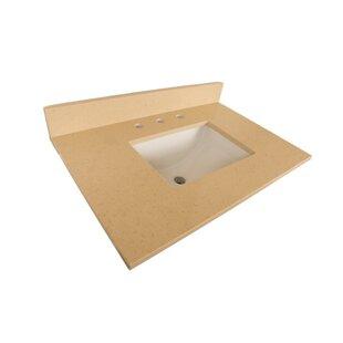 Counter 32 Single Bathroom Vanity Top By Bellaterra Home