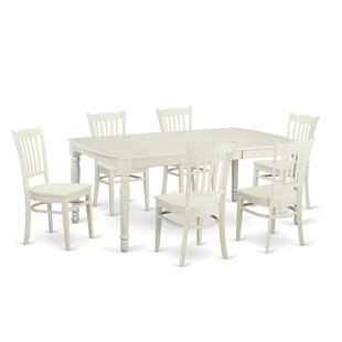 Carmel 7 Piece Dining Set by August Grove
