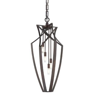 Williston Forge Cossey 4-Light Foyer Pendant