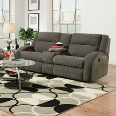 Southern Motion Maverick Double Console And Reclining Sofa
