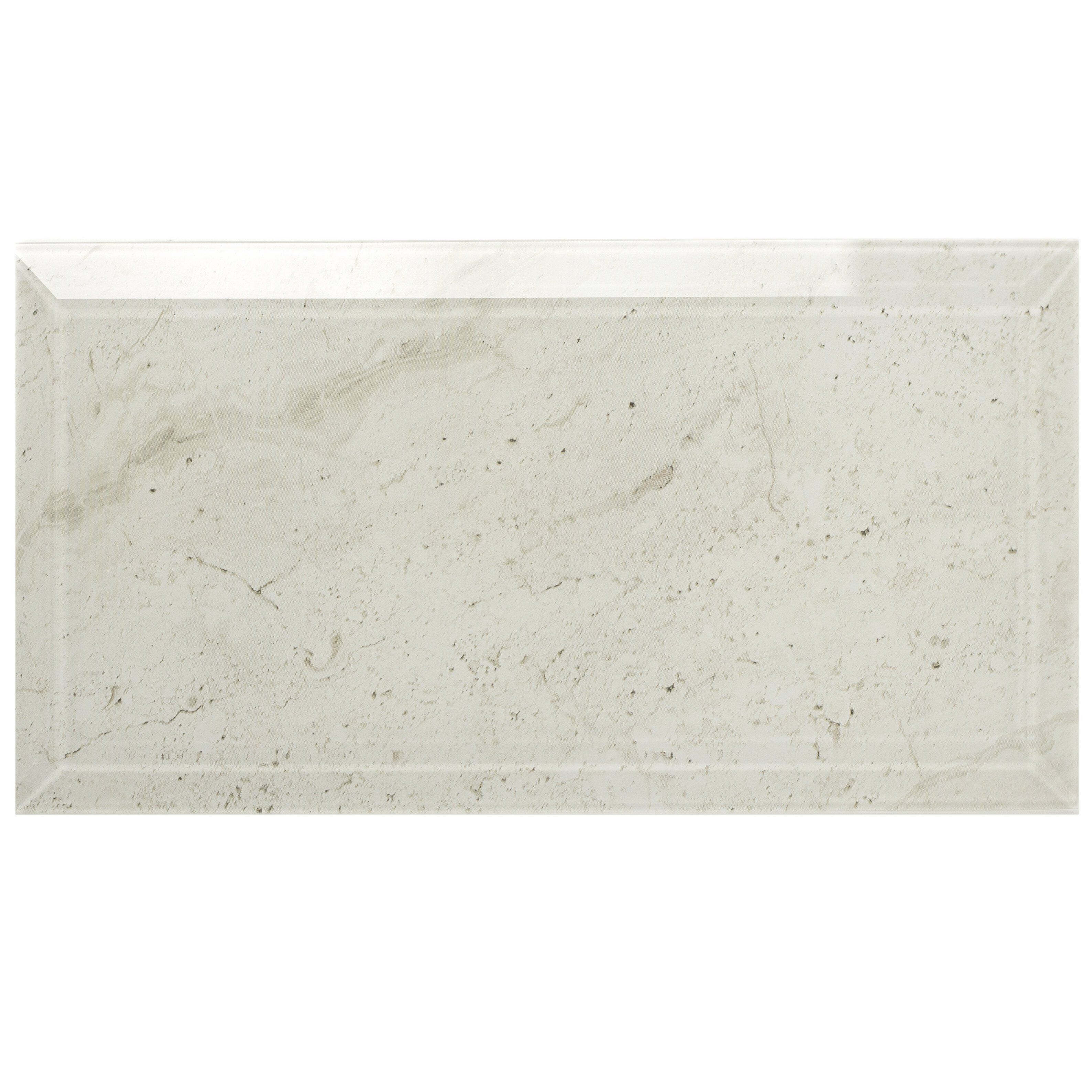 Abolos Nature 4 X 8 Beveled Gl Subway Tile In Crema Marfil Wayfair