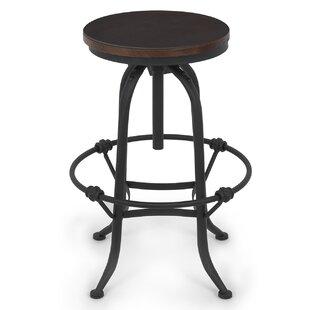 Adjustable Height Swivel Bar Stool by Belleze