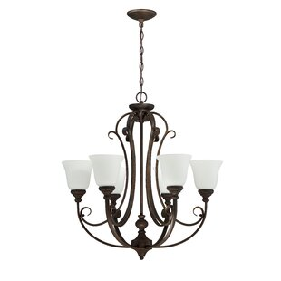 Fleur De Lis Living Chalfont 6-Light Shaded Chandelier