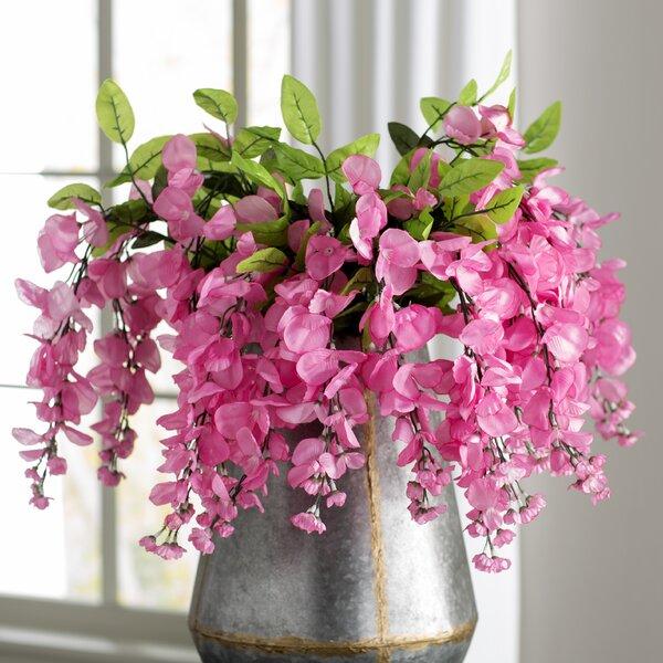 faux outdoor hanging flowers wayfair