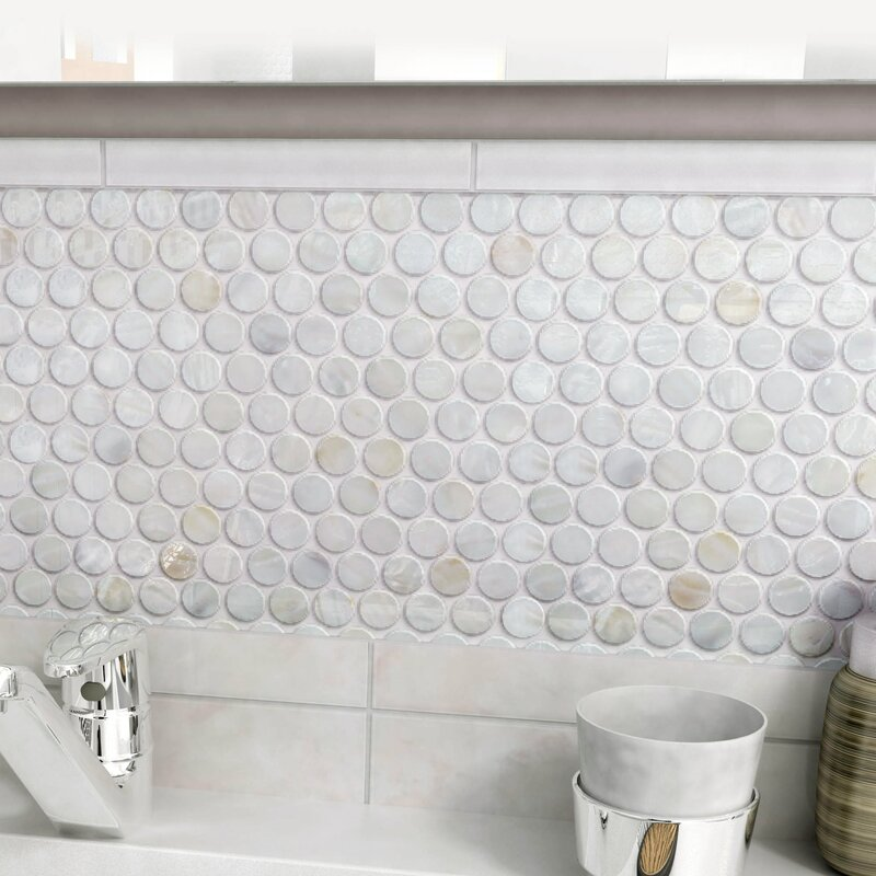 Seashell Mosaic Tile