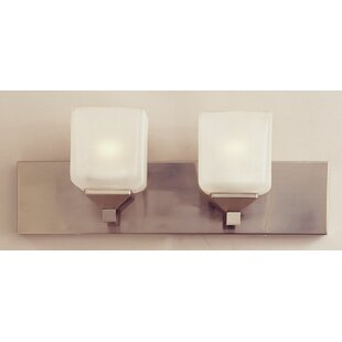 Alcott Hill Sylvan 2-Light Bath Bar