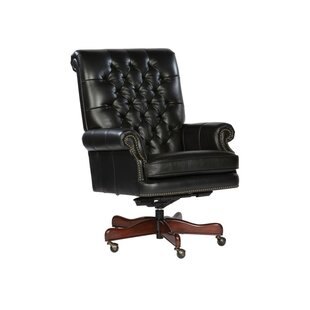 Darby Home Co Tegan High-Back Leather Executive Chair