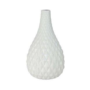 Fragoso Gradient Faceted Tear Drop Table Vase