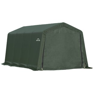 ShelterCoat 10 x 8 ft. Garage Round Green STD by ShelterLogic