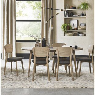 Sievers Dining Set With 6 Chairs By Mercury Row