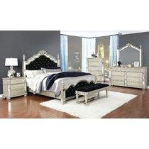 Hollywood Swank Bedroom Set Wayfair