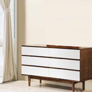 Dussault 6 Drawer Double Dresser by Corrigan Studio