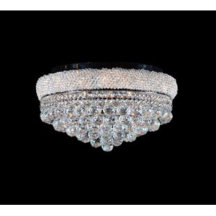 Rosdorf Park Santos 10-Light Flush Mount