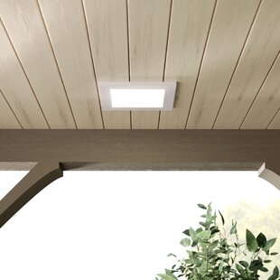 Ebern Designs Skiljo Outdoor Flush Mount