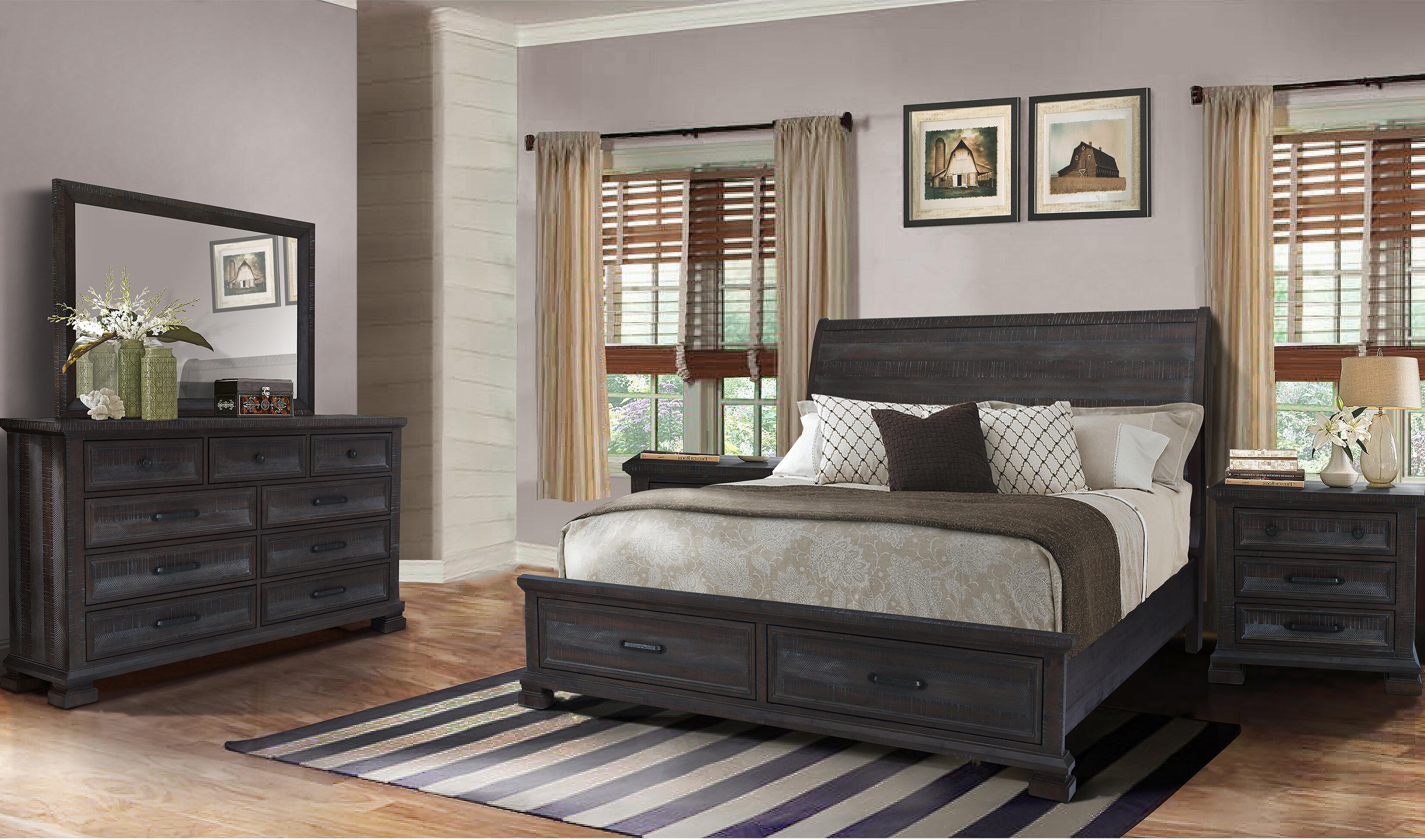 Gracie Oaks Upney Platform 5 Piece Bedroom Set Reviews Wayfair