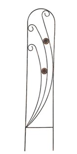 Phoenix Metal Arched Trellis by Arcadia Garden Products