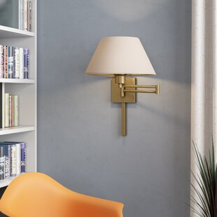 Jonesville 1-Light Plug-In Swing Arm Lamp by Ebern Designs